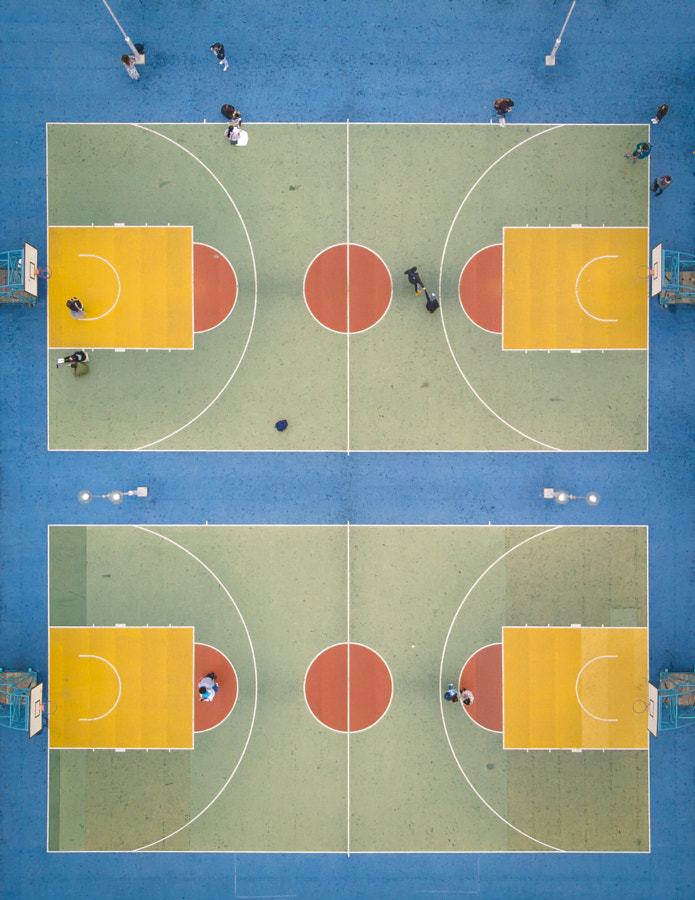 Basketball Court by Heinz Leung on 500px.com