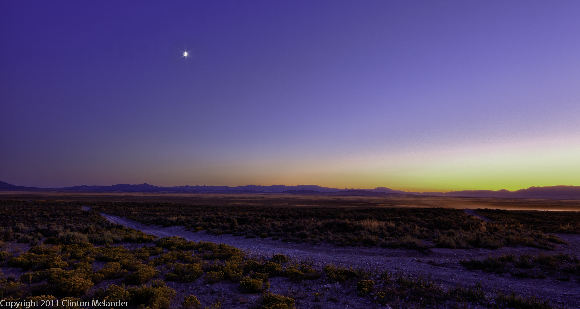 Photograph Utah West Desert Moon & Sunset panoramic by Clinton Melander on 500px