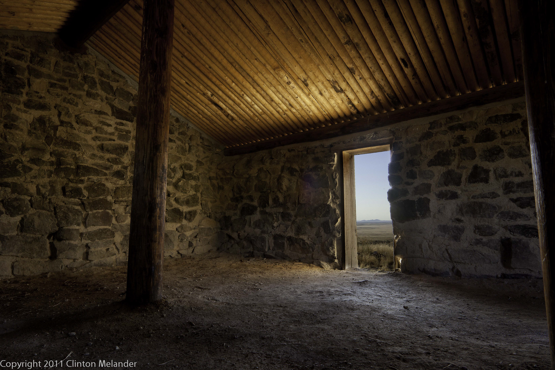 Photograph Pony Express cabin HDR inside by Clinton Melander on 500px