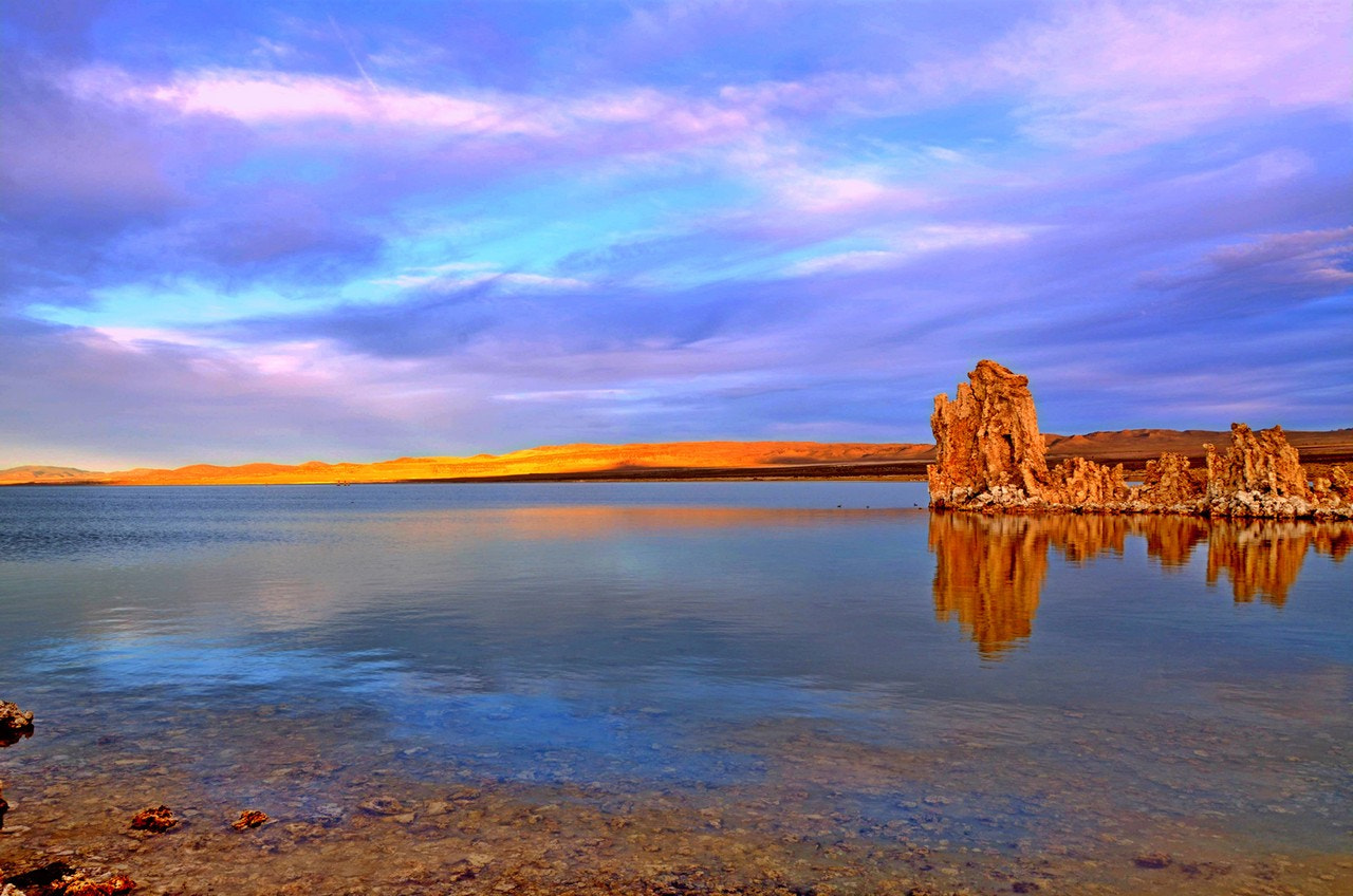 Photograph Sunsetting in Mono Lake by Cary T. on 500px
