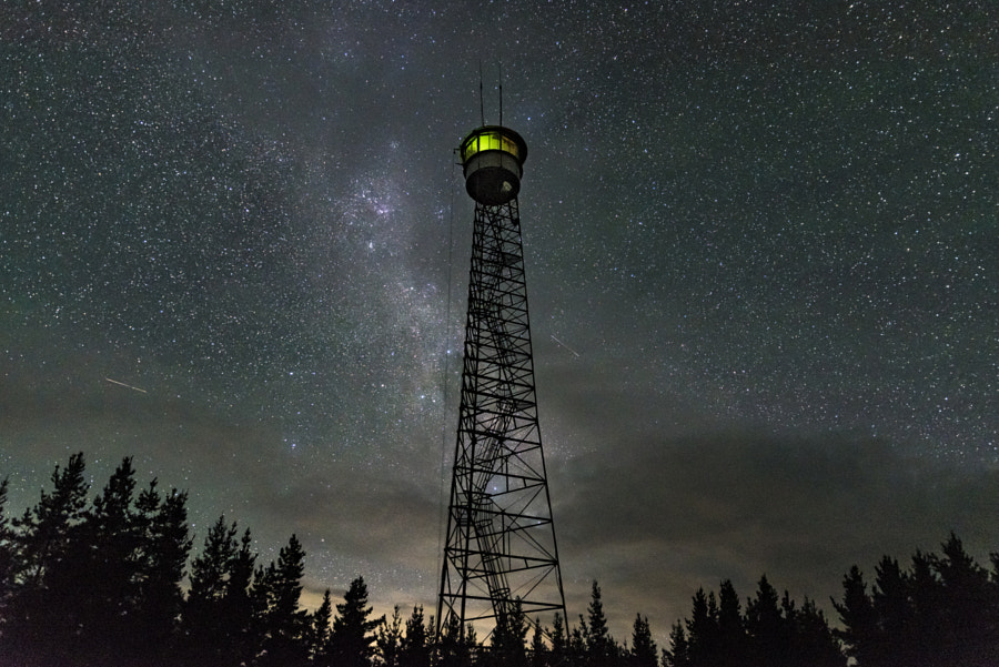 The fire tower ... by Timothy Rosenthal on 500px.com