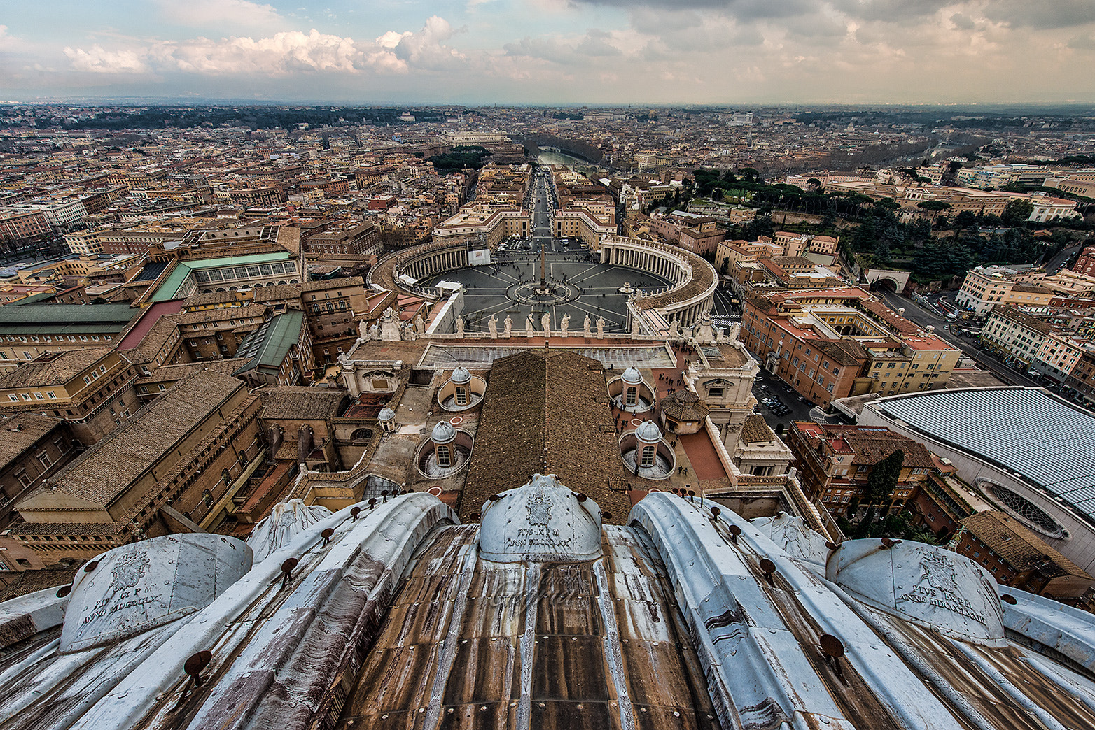 Photograph Vatican from the Dome by Manish Gajria on 500px