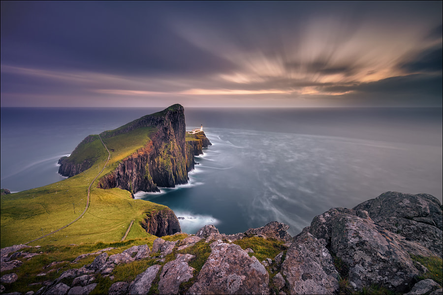 Phare de Neist Point par Georg Scharf sur 500px.com
