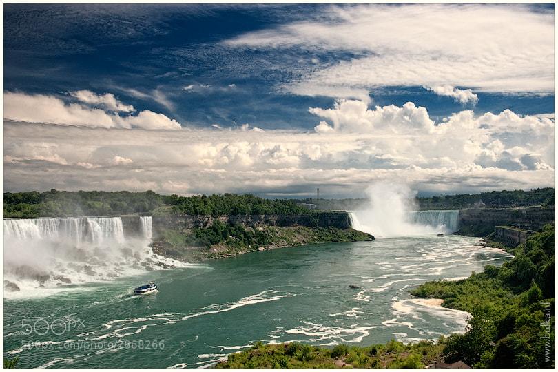 Photograph Niagara Falls by Maria Netsounski on 500px