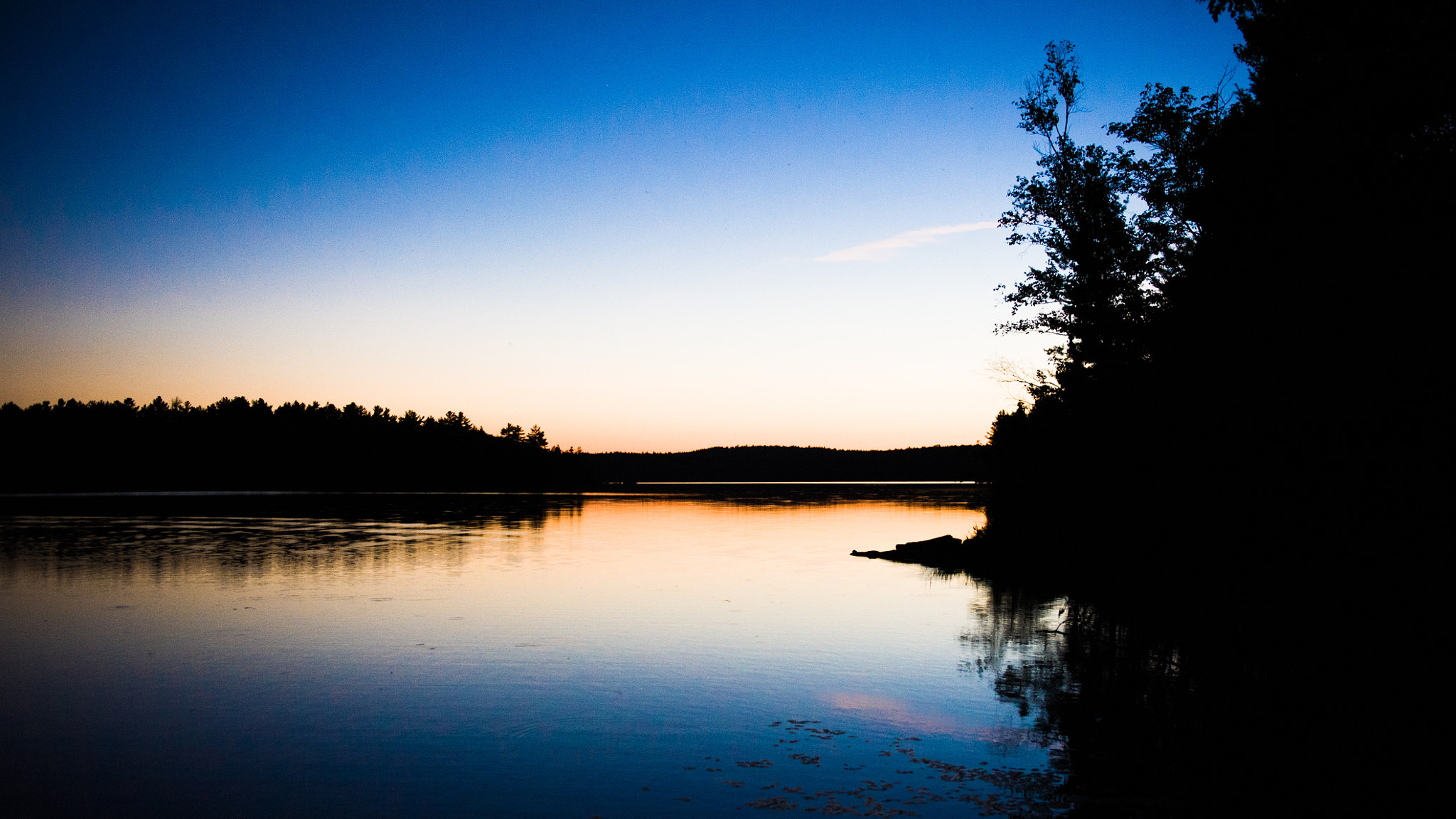 Photograph Sunset on Joeperry Lake, Ontario * 8737 by Mark Shannon on 500px