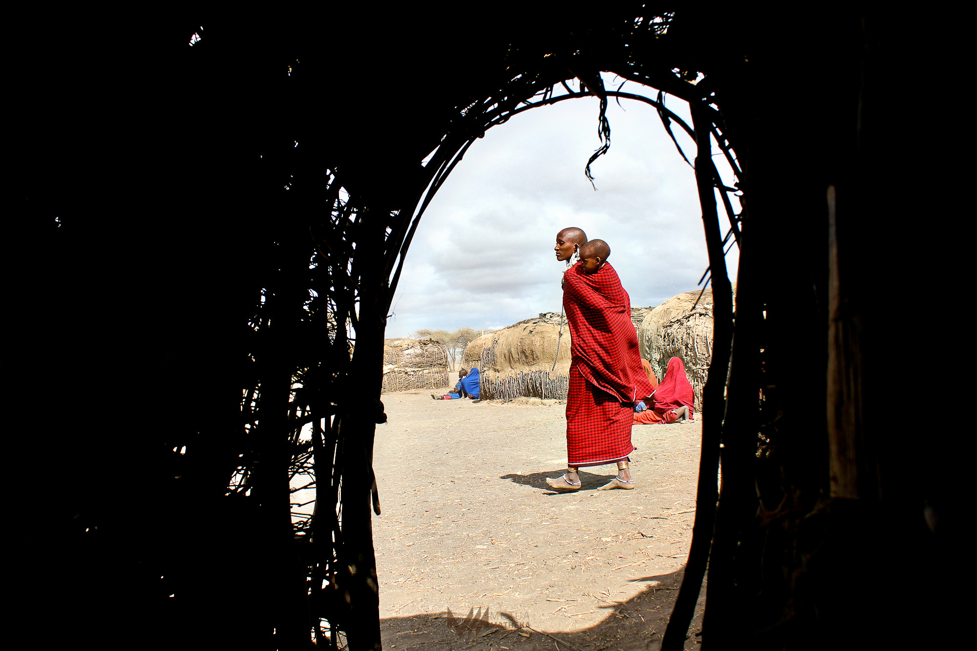 Photograph Framed Maasai by Mutua Matheka on 500px