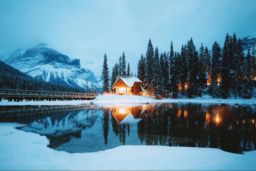 Classic view in the Rockies by Berty Mandagie on 500px.com