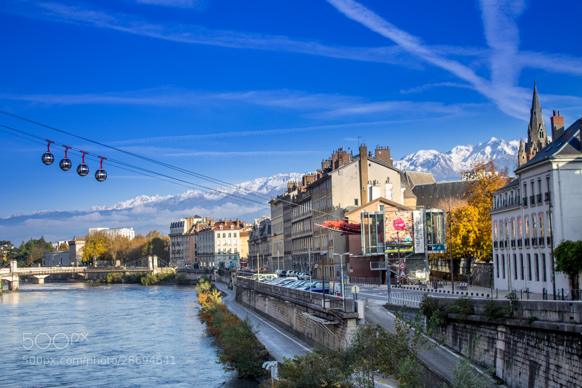 Photograph Grenoble and its mountains by Clement Barret on 500px