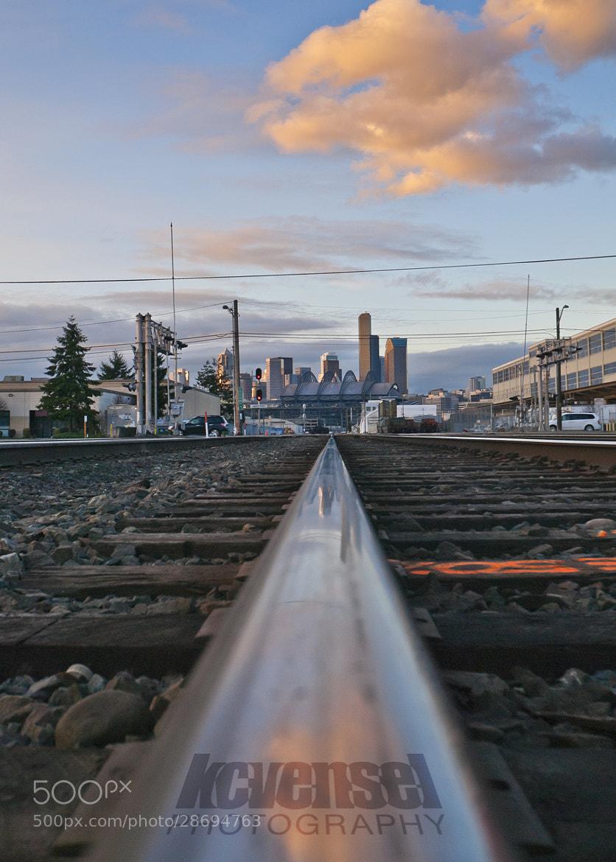 Photograph Seattle Rail by Ken Vensel on 500px