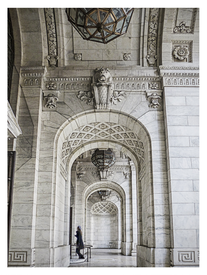 Photograph NYC Public Library by Steven Li on 500px