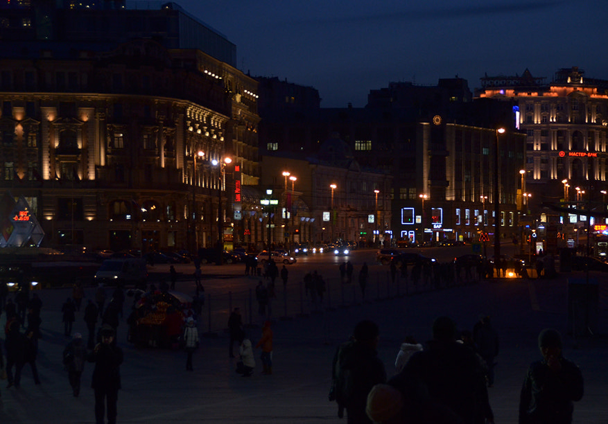 Photograph Moscow Lights in the Street by Korhan Karagulle on 500px