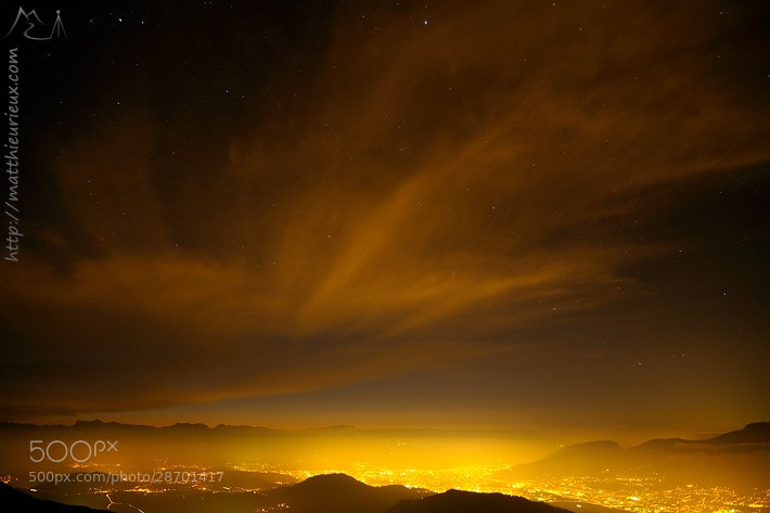 Photograph Cirrus cloud above Grenoble by Matthieu Rieux on 500px