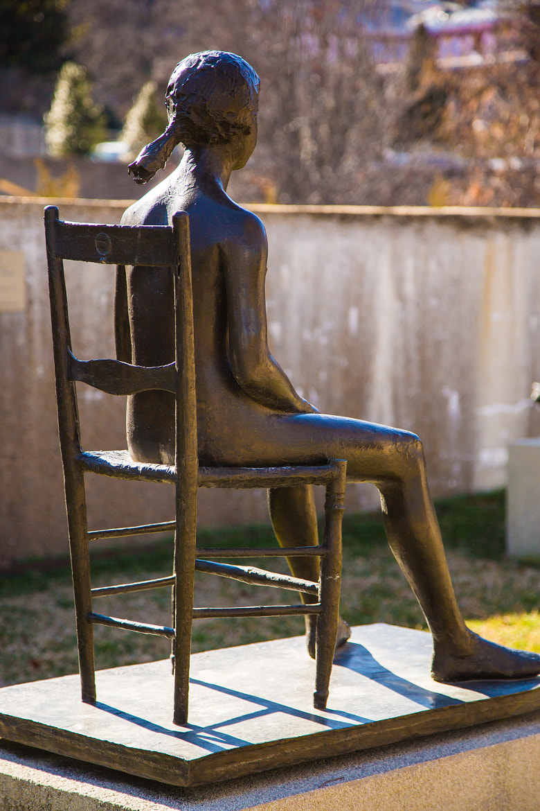 Photograph Young Girl on a Chair  by Scott Nelson on 500px