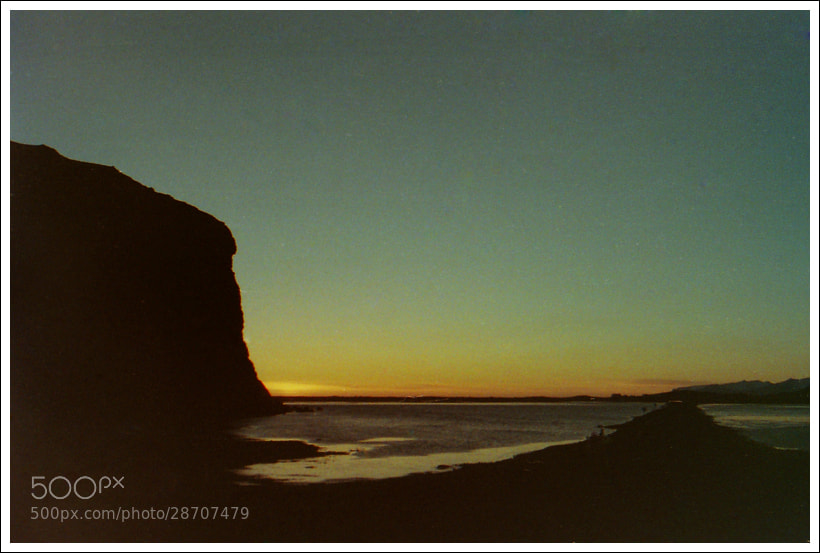 Photograph Driving from Dyrholaey at Sunset by Anne Harestad on 500px