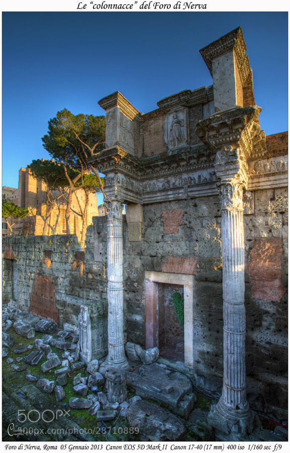 Photograph Nerva's Forum by Claudio Cugini on 500px