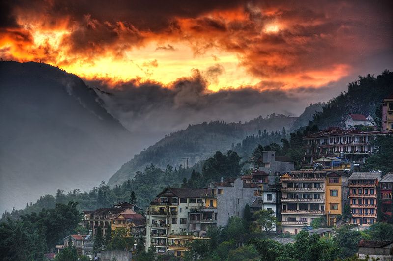 Photograph Sapa Town by Ekkachai Pholrojpanya on 500px