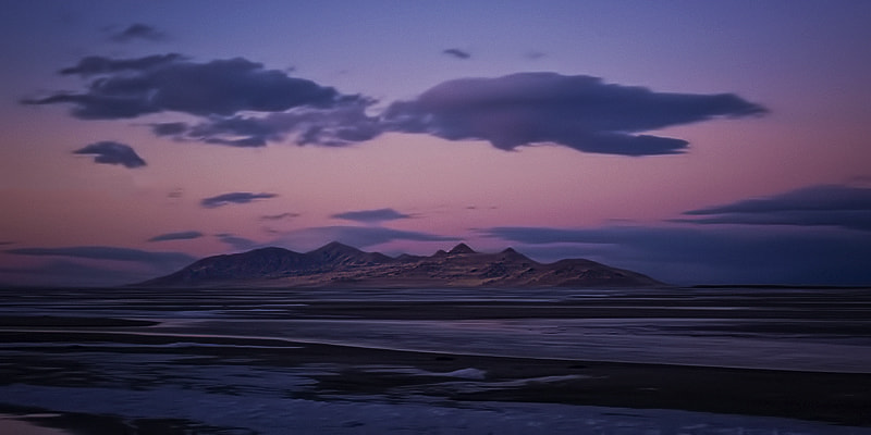 Photograph Dusk Over Antelope Island by Ken Brown on 500px
