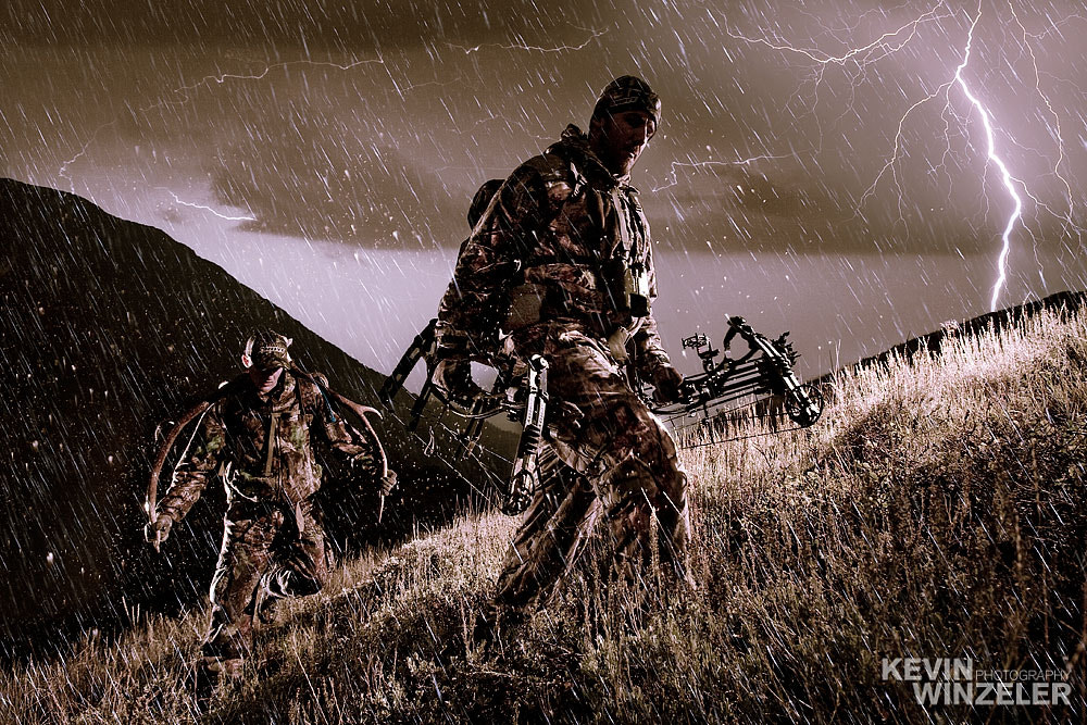 Photograph The Bow Hunter by KevinWinzeler.com  ~ sports, lifestyle on 500px
