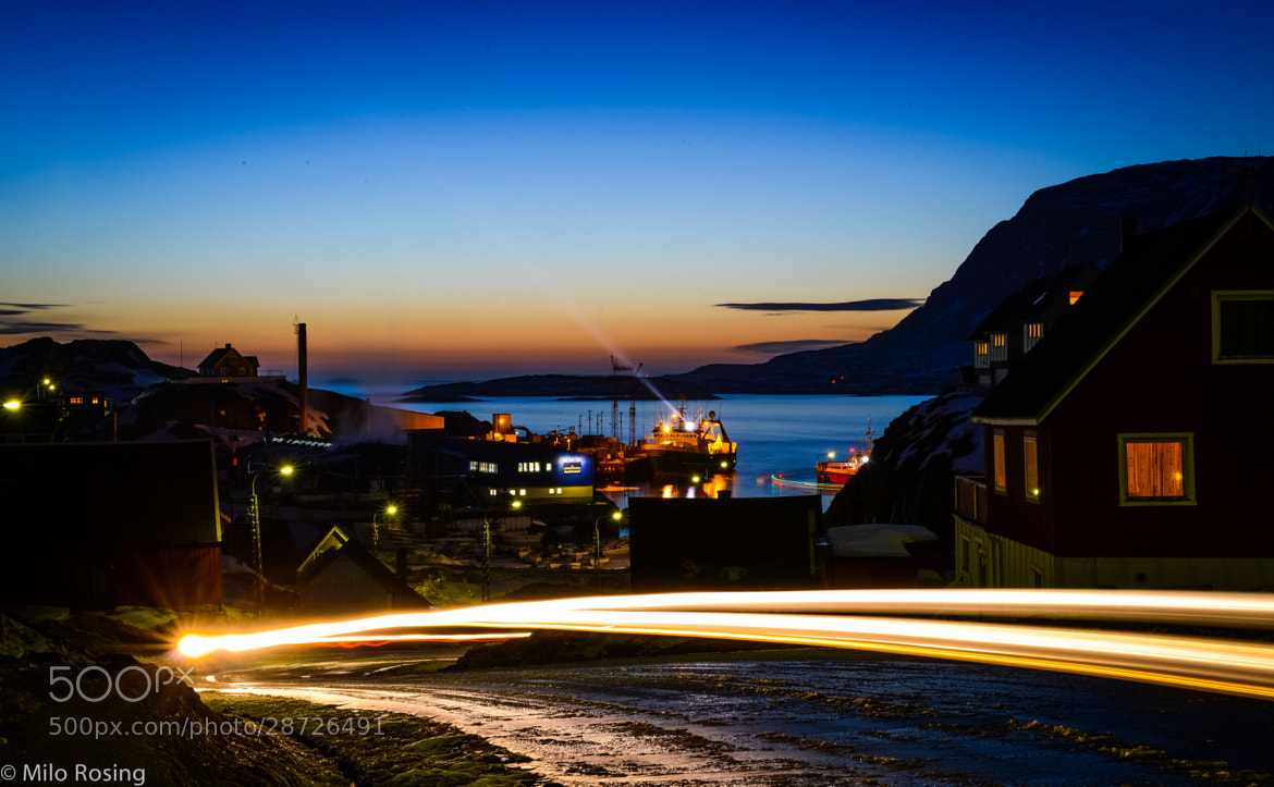 Photograph Sisimiut harbor by Milo Rosing on 500px
