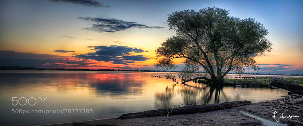 Photograph Conner's Point Sunrise by Fred Johnson on 500px