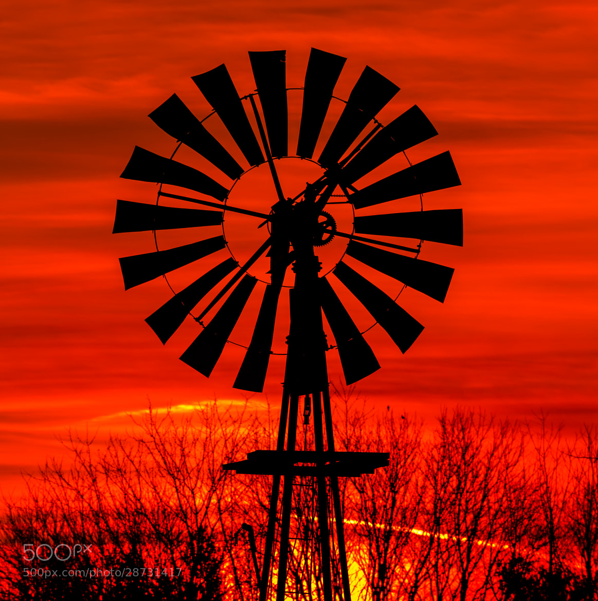 Photograph Windmill Dawn by Kenneth Keifer on 500px