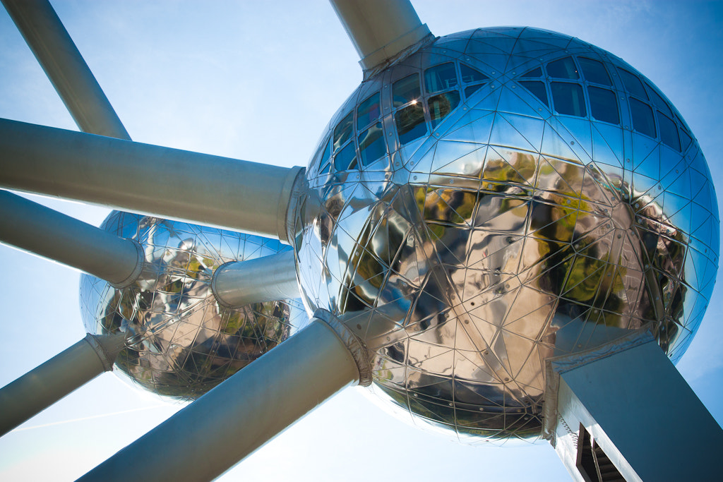 Photograph Atomium by Patrick Vossen on 500px