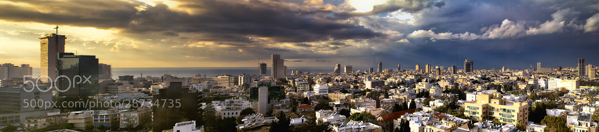 Photograph TLV Panorama by Asi Yacobovitch on 500px