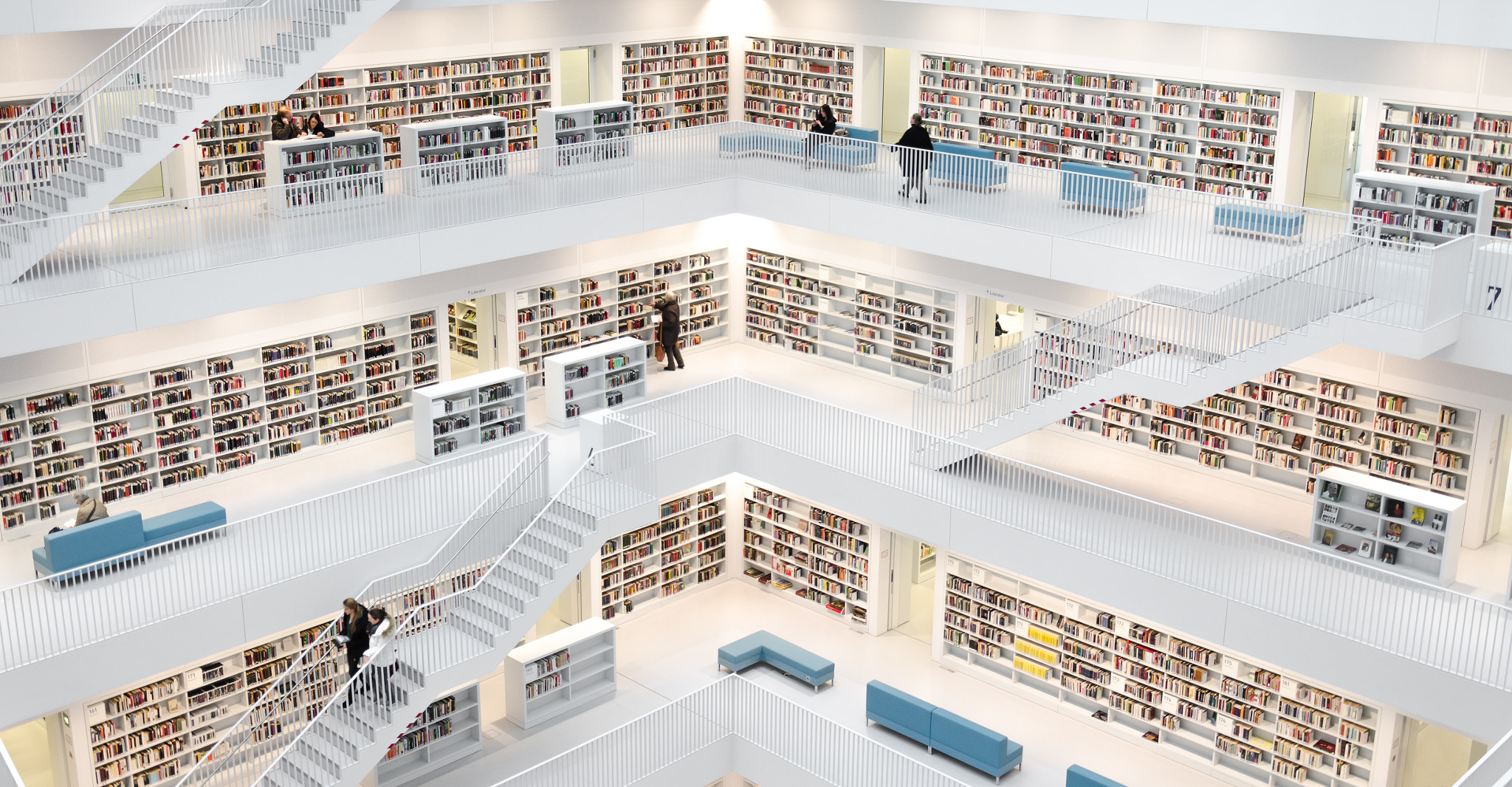 Photograph Stuttgart Library by Dominic Walter on 500px