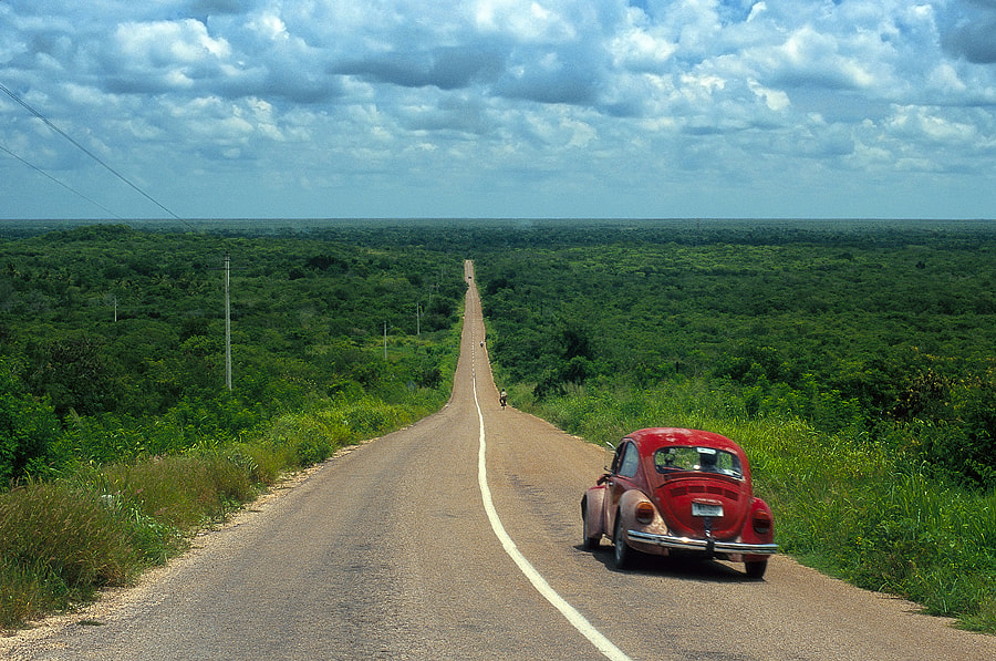 Yucatán Road - Mexico by Marco Cazzato on 500px.com