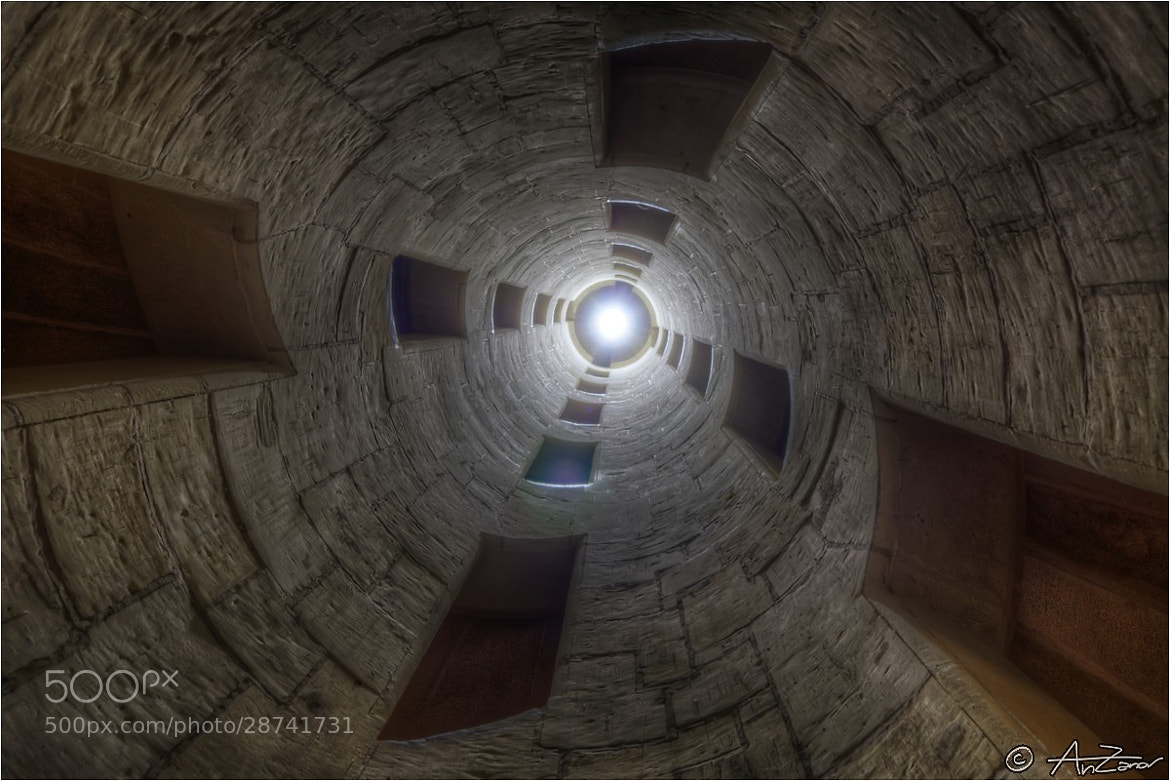 "Photograph Chambord castle internal stairs (HDR) 2012-08-07 094527 by Andrea ""AnZanov"" Zanovello on 500px"