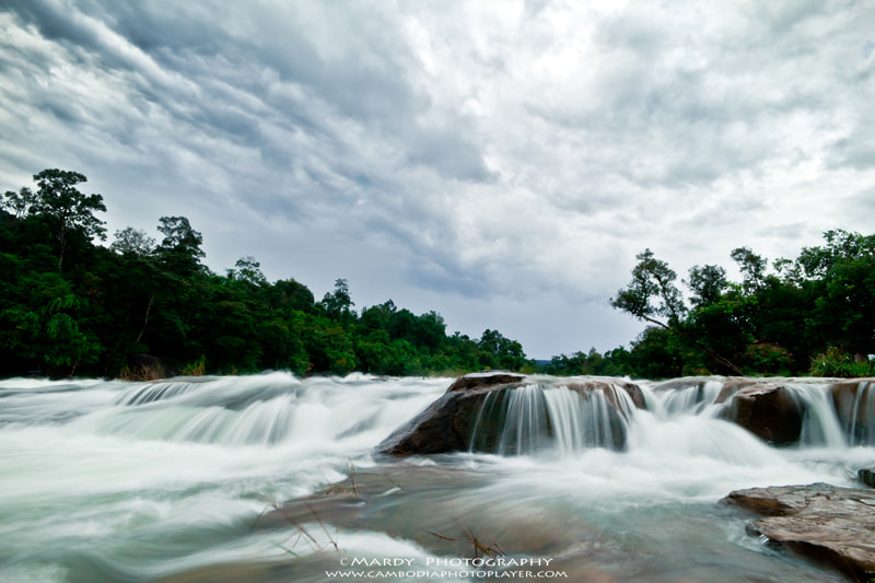 Photograph Thmor Rong Waterfall by Mardy Suong Photography on 500px