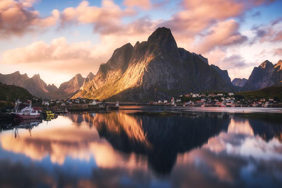 Golden Northern Norway by Daniel Fleischhacker on 500px.com