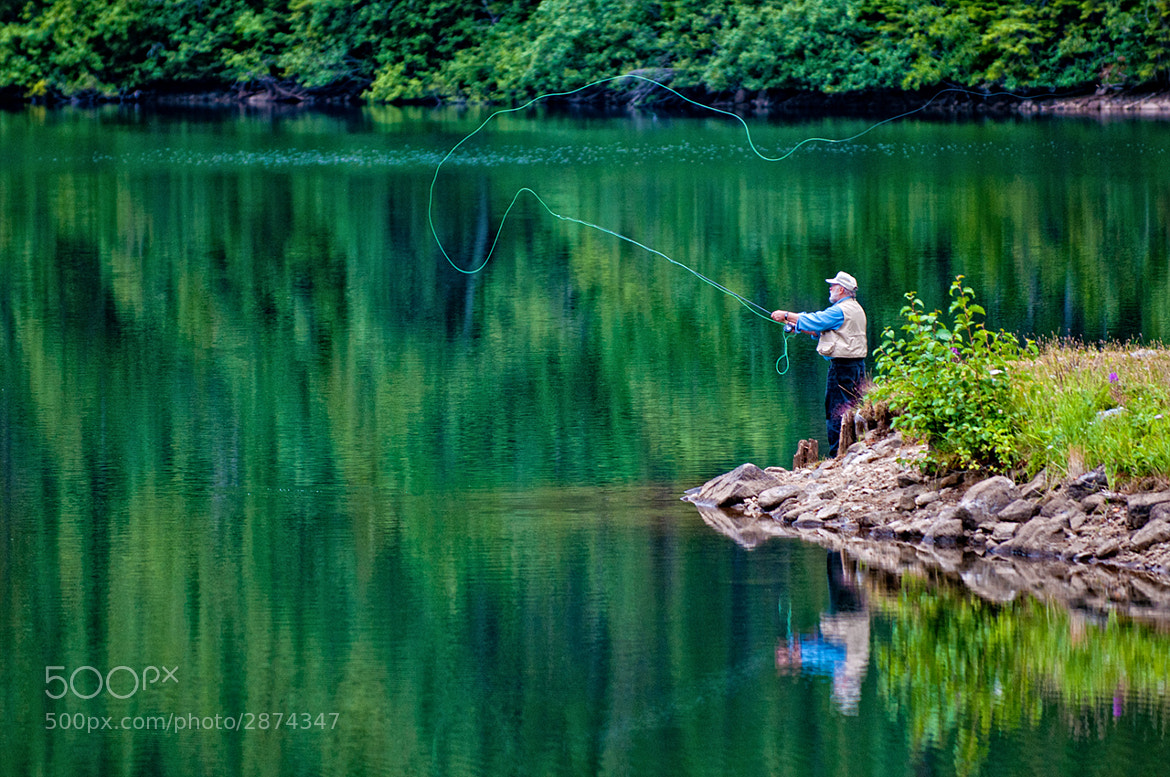 Photograph Reflections on Flyfishing by Trevor Johnston / EyeMeetsWorld.com on 500px