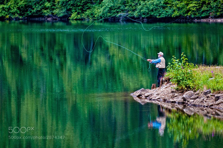 Photograph Reflections on Flyfishing by Trevor Johnston / EyeMeetsWorld.com on 500px