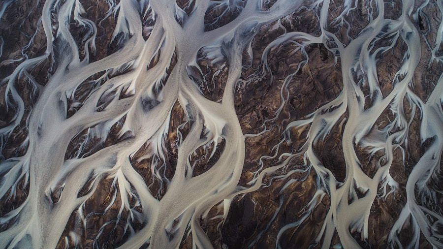 Glacial Rivers From Above by Iurie Belegurschi on 500px.com