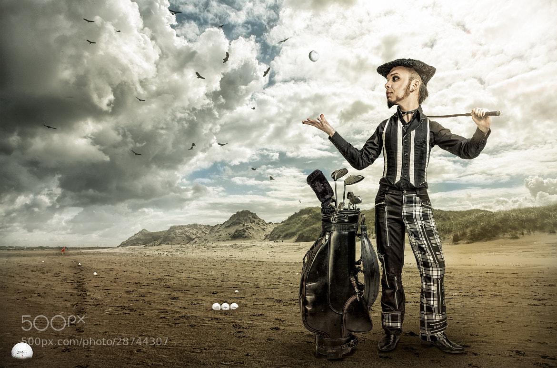 Photograph The Beach Golfer by Claus  Baumann on 500px