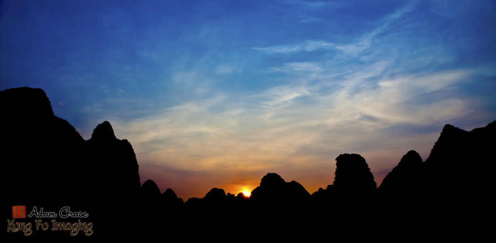 Photograph Smooth Yangshuo Sunset by Kung Fu Imaging on 500px