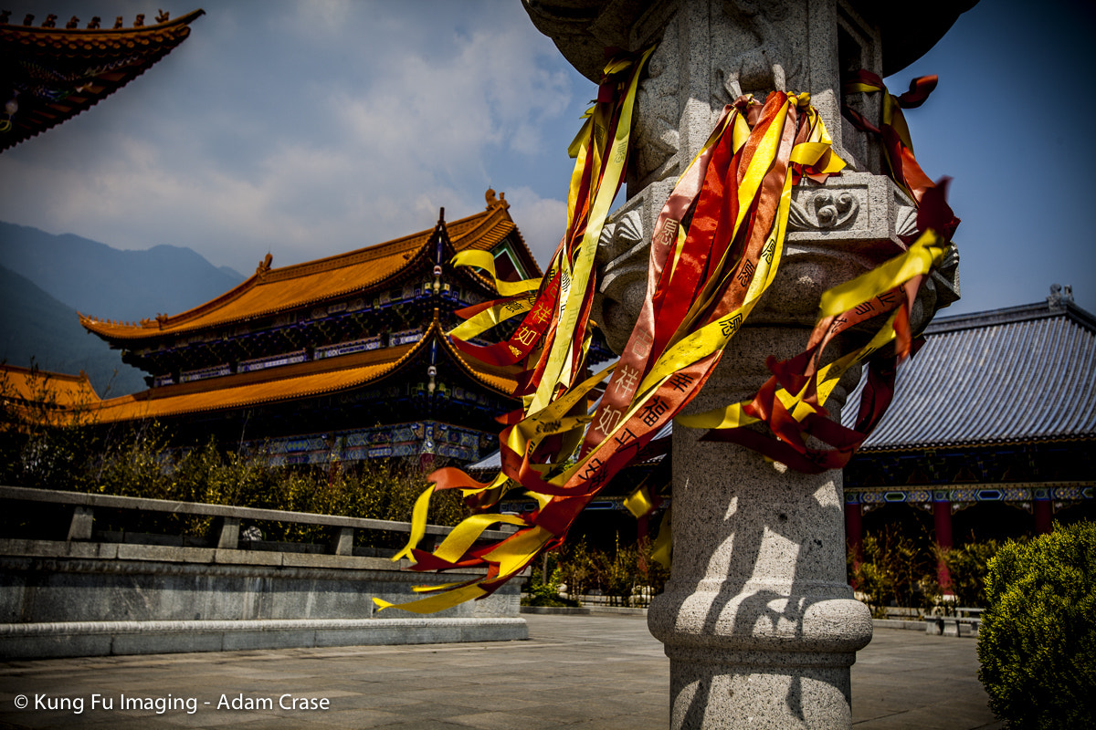 Photograph Temple flags by Kung Fu Imaging on 500px