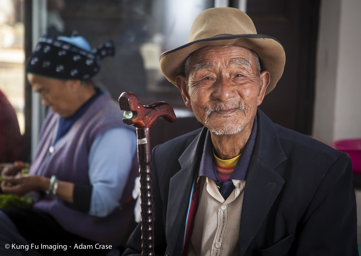 Photograph Man with a Cane by Kung Fu Imaging on 500px