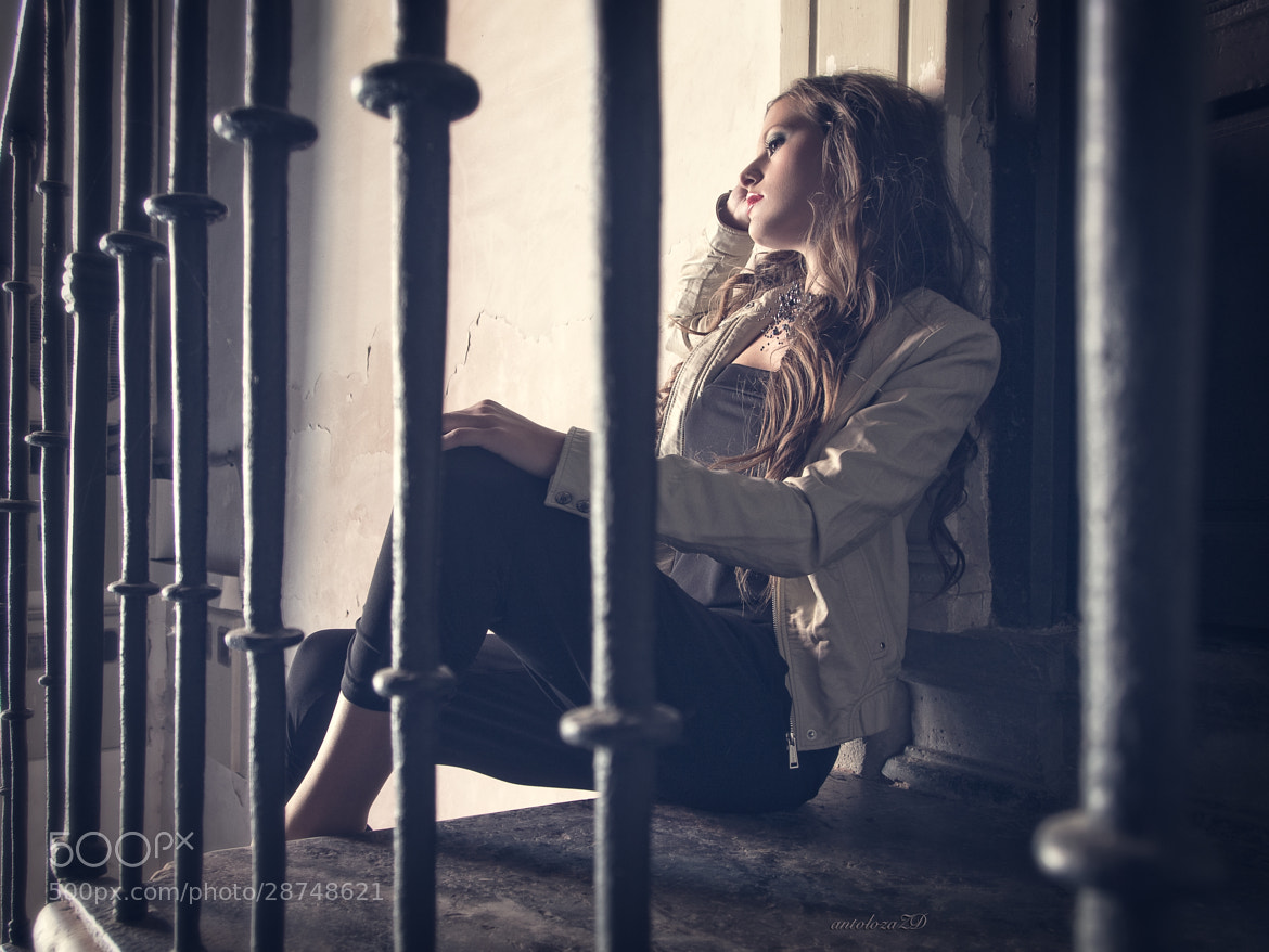 Photograph Thoughts behind bars by Antonio Lozano on 500px