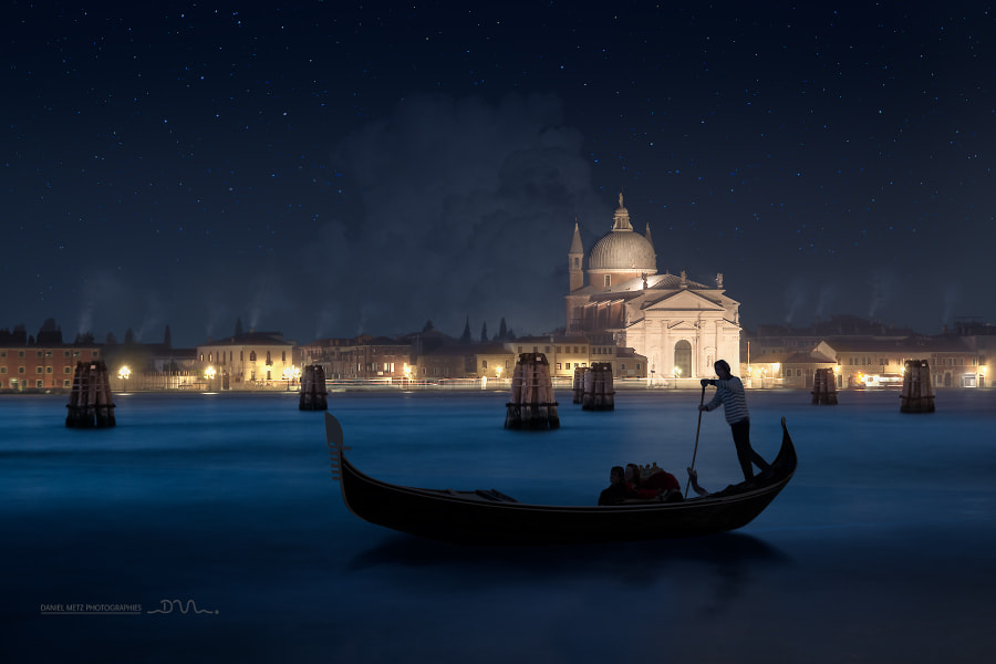christmas night in Venice by Daniel Metz on 500px.com