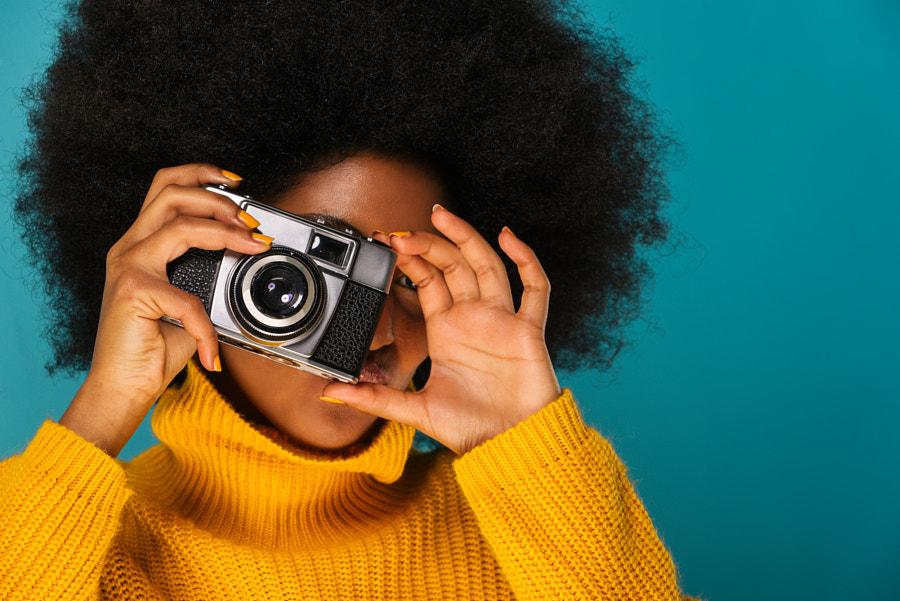 Wanita afro cantik oleh fabio formaggio di 500px.com