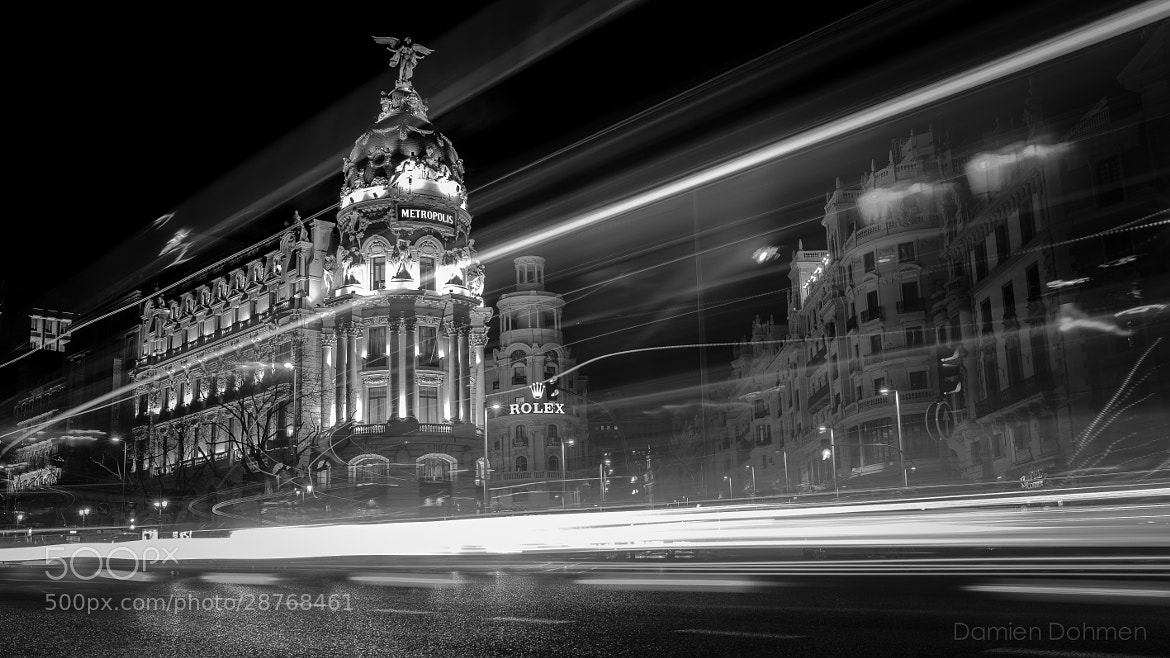 Photograph Madrid By Night by Damien Dohmen on 500px
