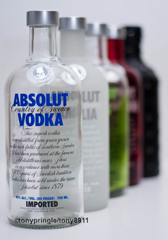 Photograph Absolut vodka by Tony Pringle on 500px