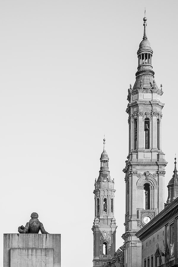 The man and the towers by Ana V. on 500px.com