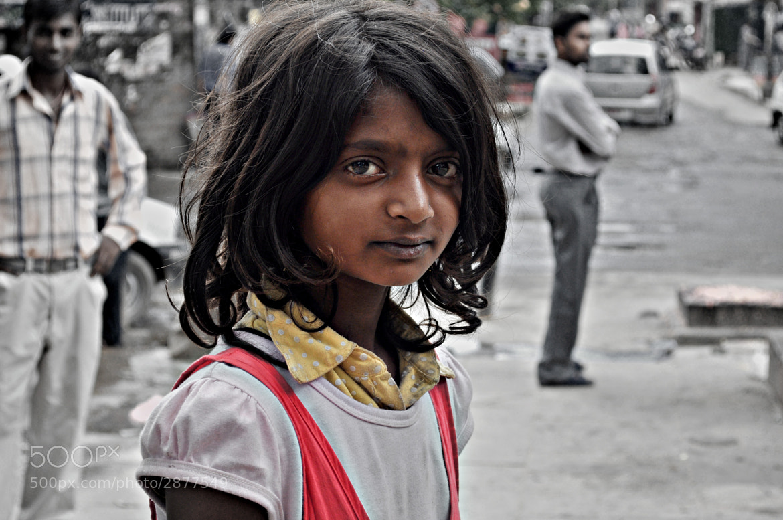 Photograph Little Girl in Kathmandu by Gulcan Cakir on 500px