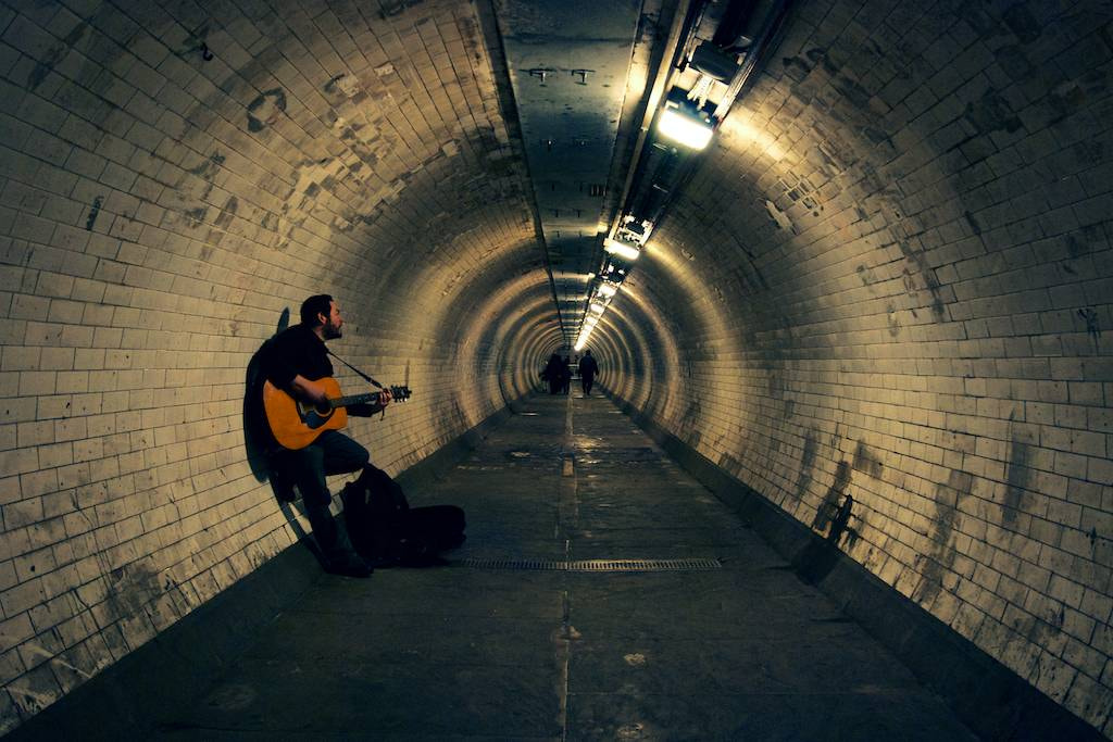 Photograph Music under the Thames  by Emile Ajer on 500px