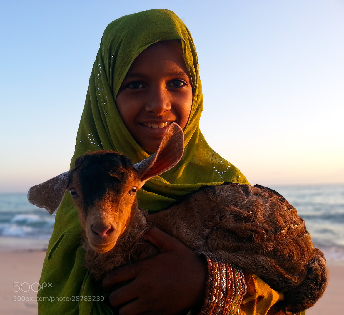 Photograph Socotra Girl by Tom Lowe on 500px
