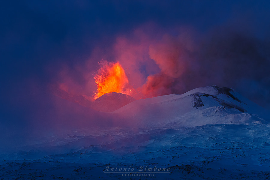 Photograph Red and Blue by Antonio Zimbone on 500px