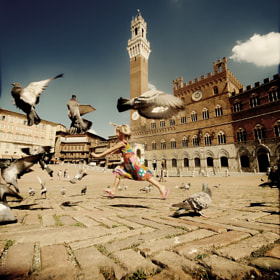 Bambina in Siena by Edgar Barany (EdgarBarany)) on 500px.com